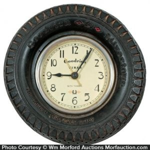 Goodrich Tire Clock