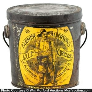 Farmer Allerton's Axle Grease Pail