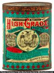 High Grade Tobacco Tin