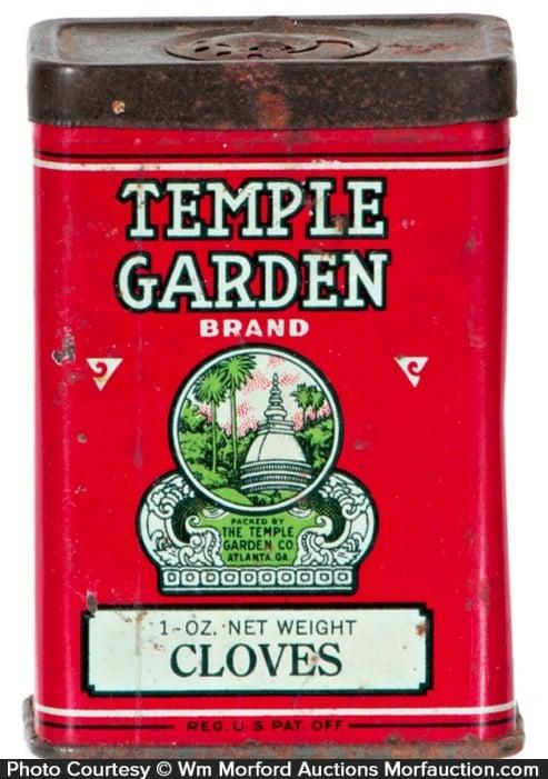 Temple Garden Spice Tin
