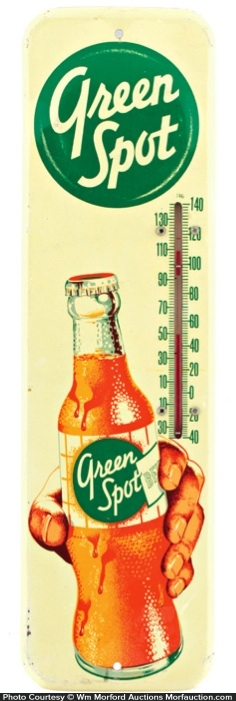 Green Spot Soda Thermometer