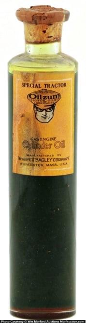 Oilzum Sample Bottle