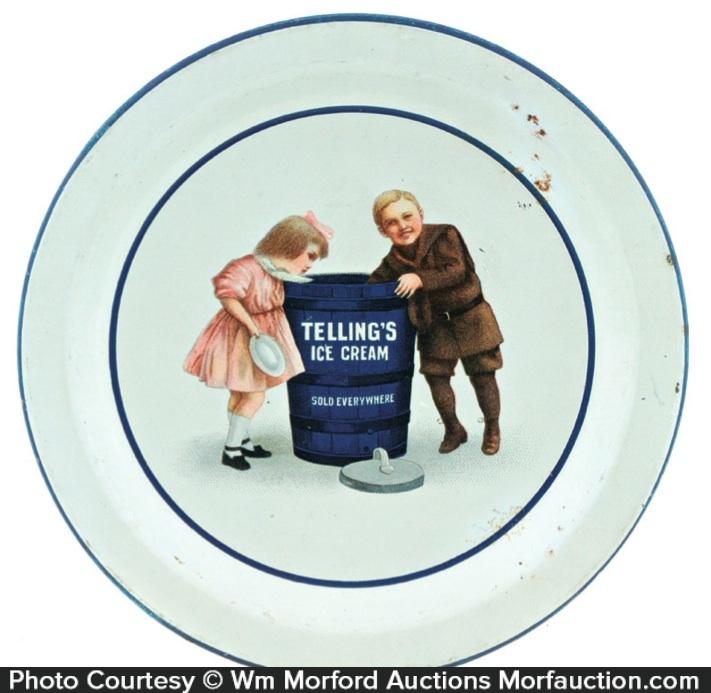 Telling's Ice Cream Tray