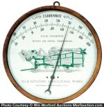 Vintage Agricultural Thermometer