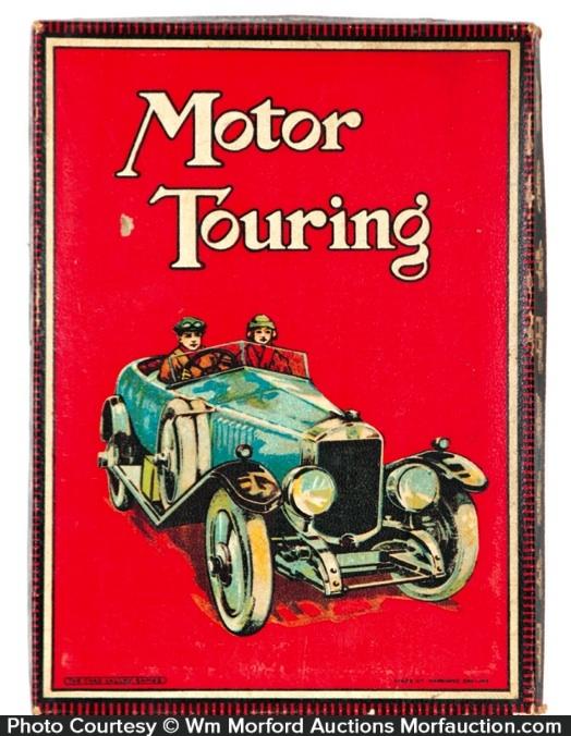 Antique Advertising Motor Touring Game Antique Advertising