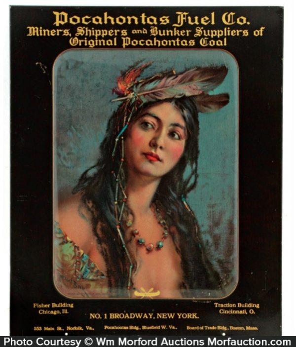 Pocahontas Fuel Sign
