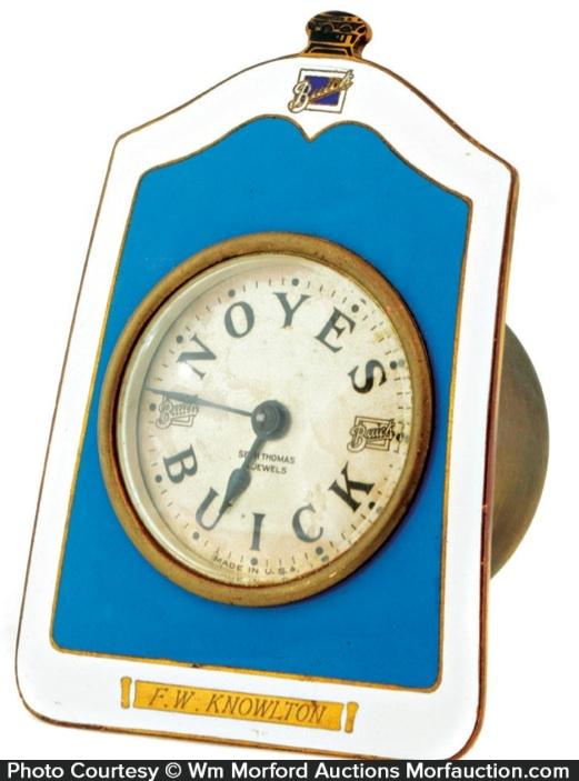 Noye's Buick Presentation Clock