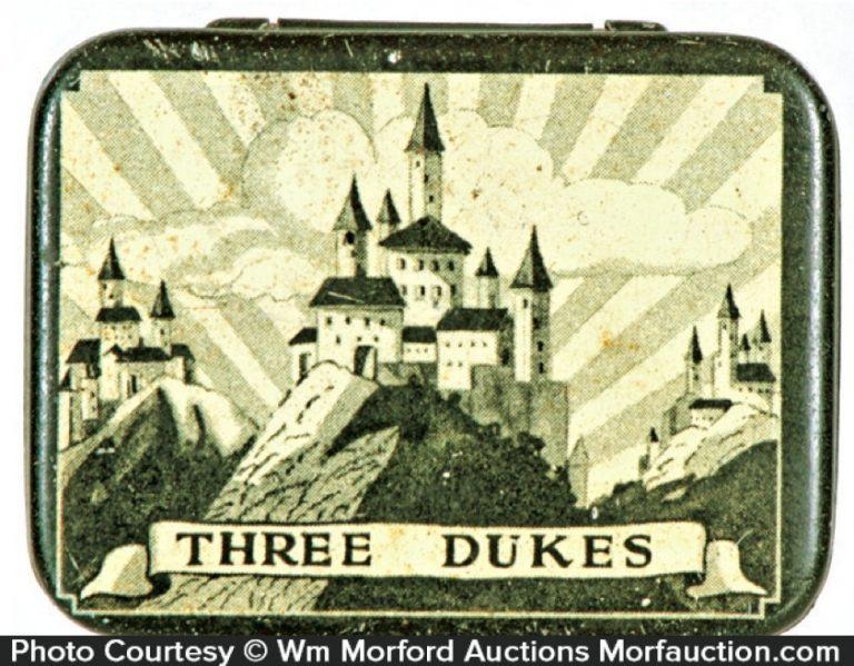 Three Dukes Condom Tin