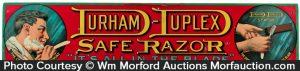 Durham-Duplex Safe Razor Sign