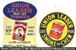 Union Leader Tobacco Signs