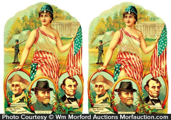 Civil War Patriotic Signs
