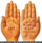 Mccormick Hand Trade Card