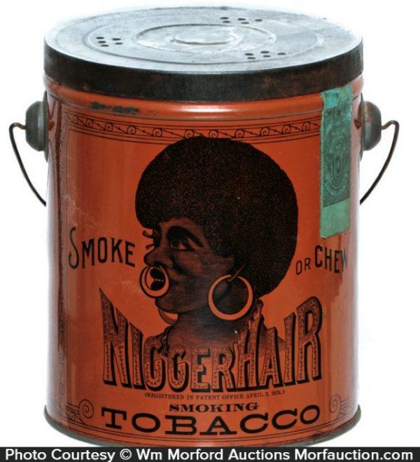 Nigger Hair Tobacco Tin