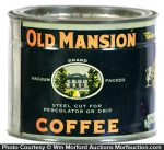 Old Mansion Coffee Can