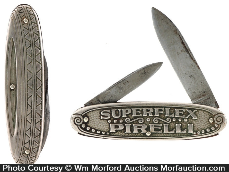 Pirelli Superflex Tire Pocket Knife