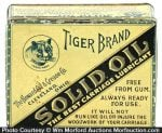 Tiger Solid Oil Tin