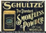 Schultze Gunpowder Sign
