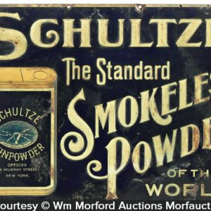 Schultze Gunpowder Sign