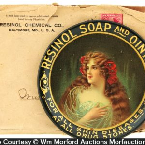 Resinol Soap Tray