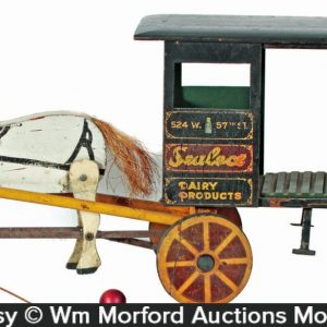 Sheffield Farm Dairy Horse Wagon Toy