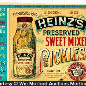 Heinz Pickles Crate Labels