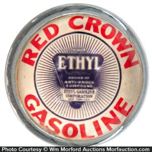 Red Crown Gasoline Paperweight