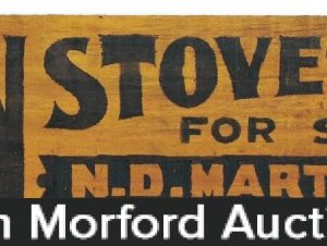 Norman Stoves Wooden Sign