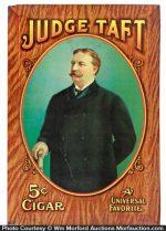 Judge Taft Cigar Sign