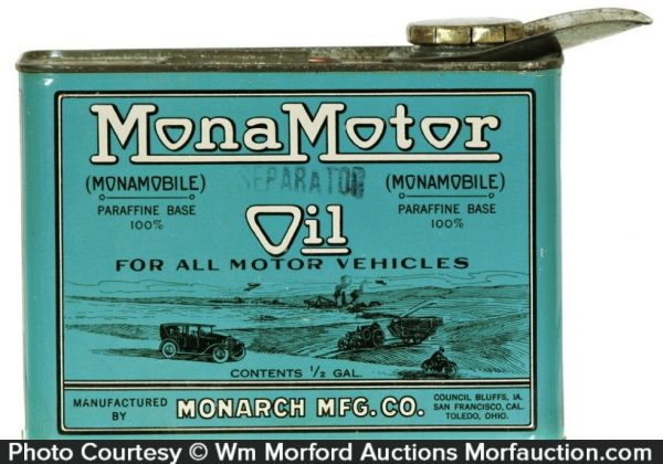Mona Motor Oil Can