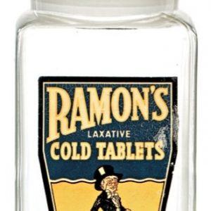 Ramon's Cold Tablets Jar