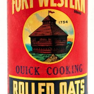 Fort Western Oats Box