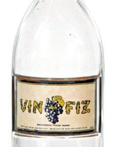 Vin Fiz Syrup Bottle