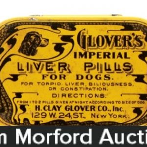 Glover's Dog Pills Tin