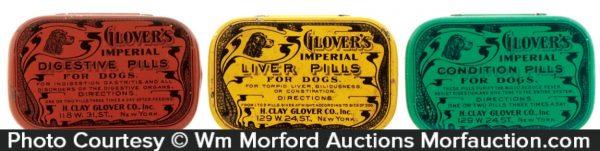 Glover's Dog Pills Tin
