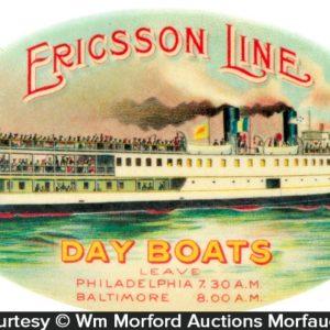 Ericsson Line Boats Mirror