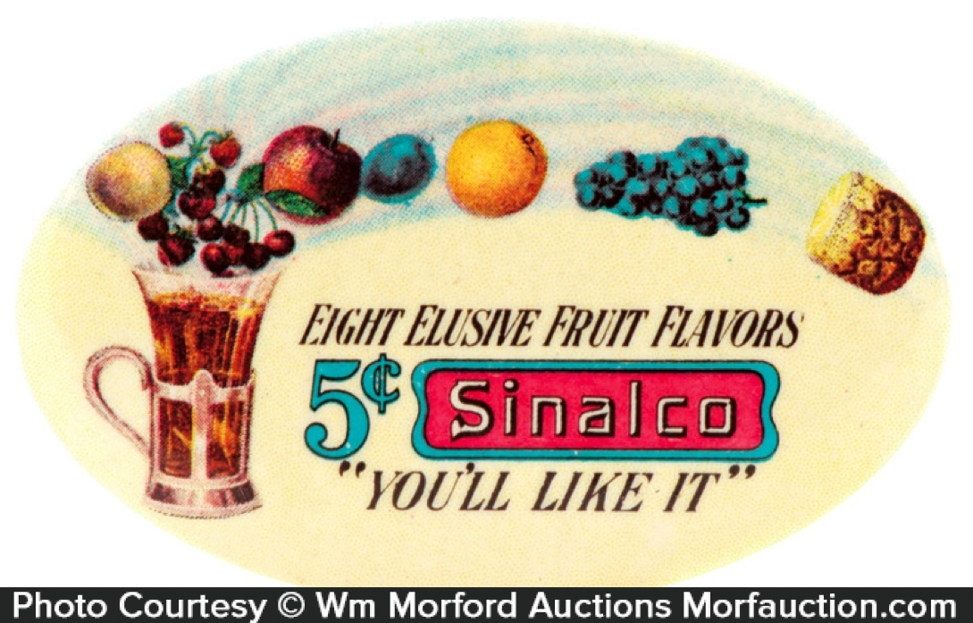 Sinalco Fruit Syrup Mirror