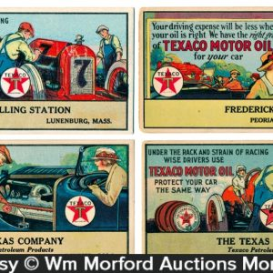Texaco Motor Oil Blotters