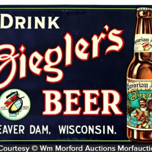 Ziegler's Beer Sign