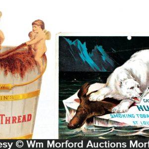 Catlin's Golden Thread Tobacco Sign