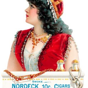 Nordeck Cigars Sign