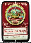 William Tell Flour Match Holder