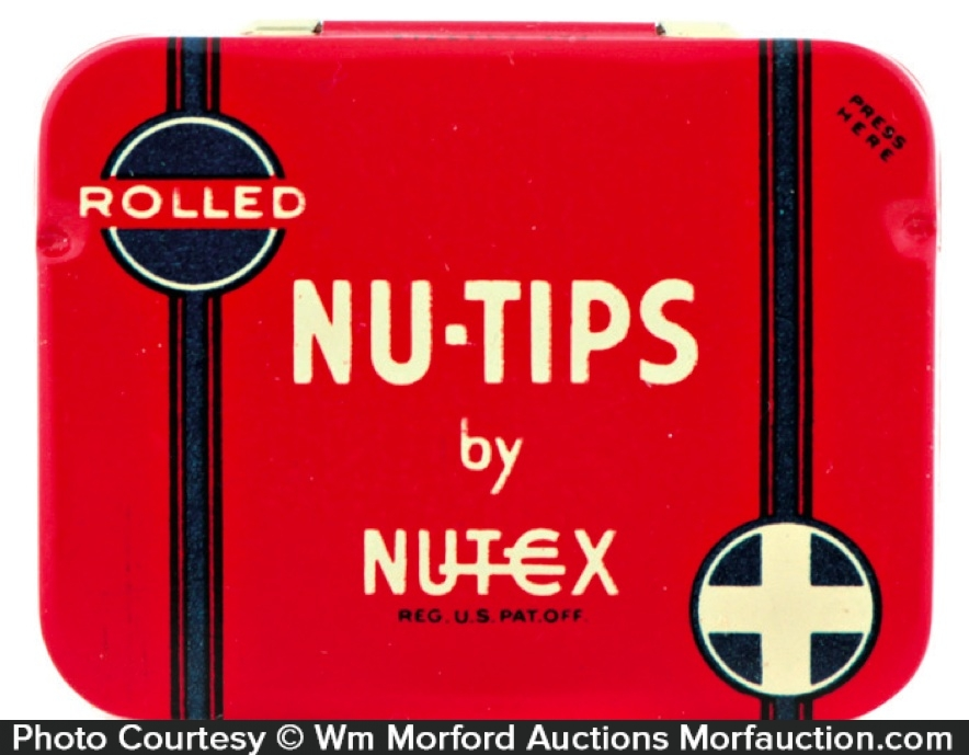 Rolled Nu-Tips Condom Tin