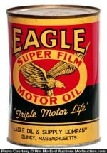 Eagle Motor Oil Can