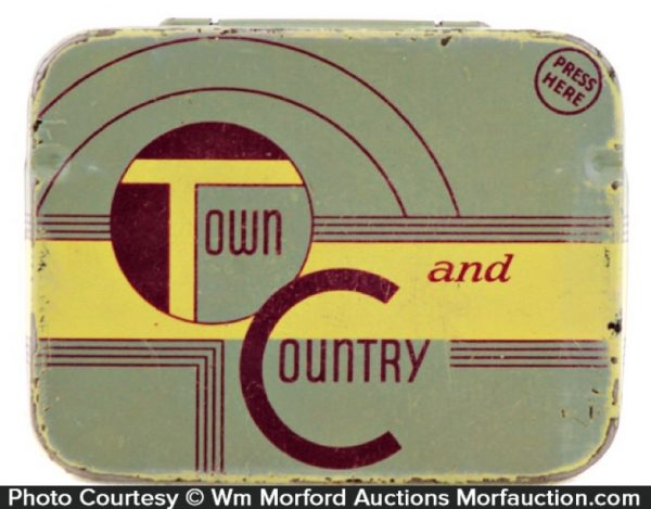 Town and Country Condom Tin