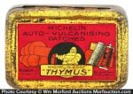 Michelin Tire Patch Tin