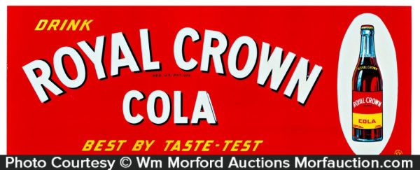 Royal Crown Cola Sign