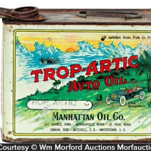 Trop-Artic Motor Oil Tin