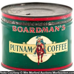 Boardman's Coffee Tin