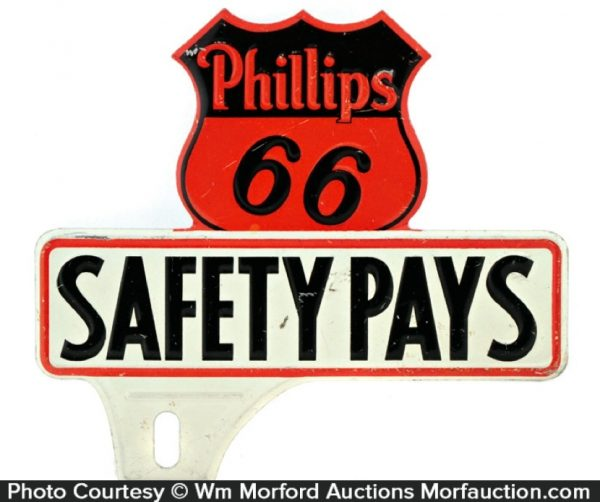 Phillips 66 Plate Topper