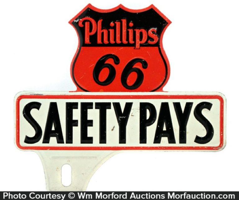 Phillips 66 Plate Topper
